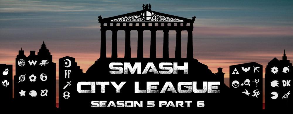 Αποτελέσματα Smash City League Season 5 Part 6