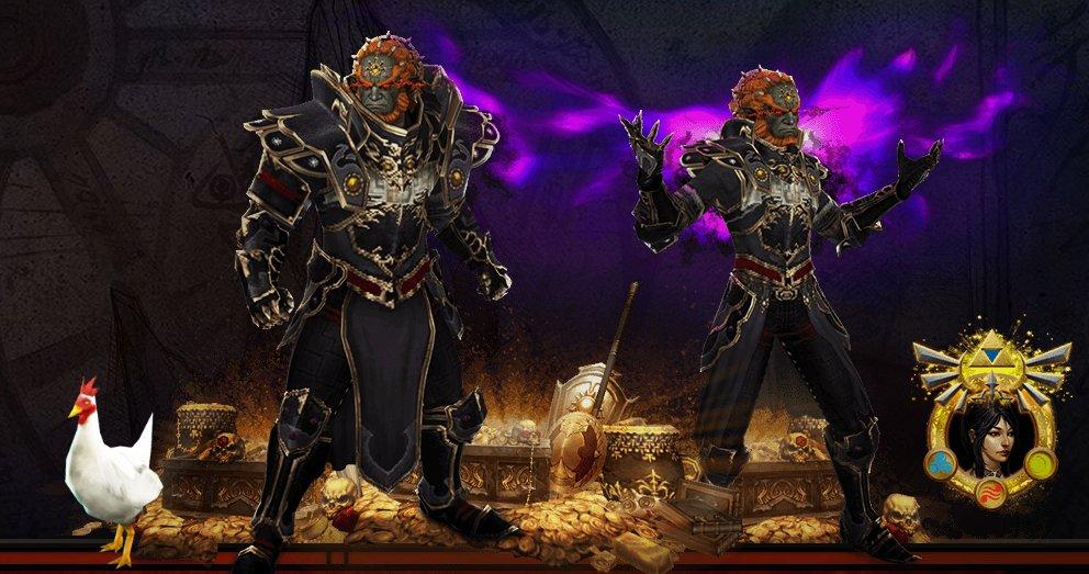 Diablo III Eternal Collection Ganondorf