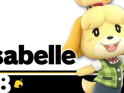 Isabelle Super Smash Bros. Ultimate