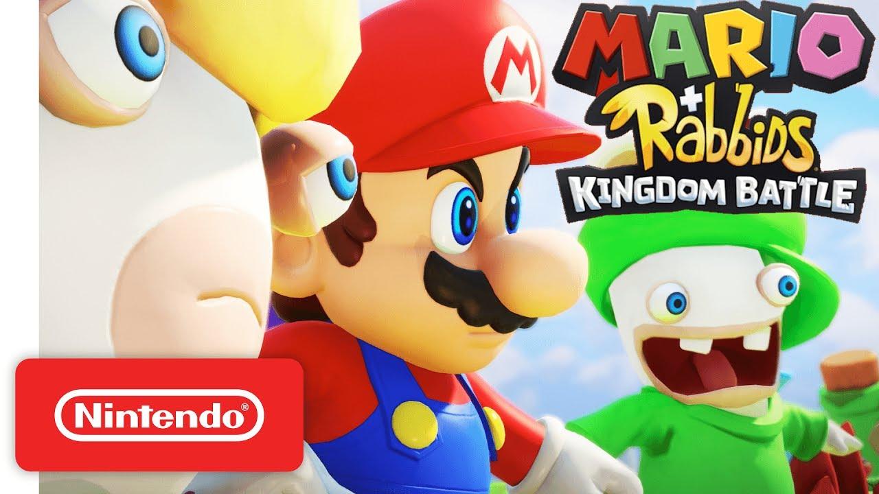 Mario + Rabbids Kingdom Battle αναβάθμιση περιεχομένου