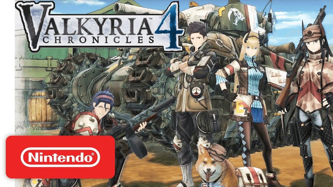 Κυκλοφόρησε ήδη το Valkyria Chronicles 4 στο Switch