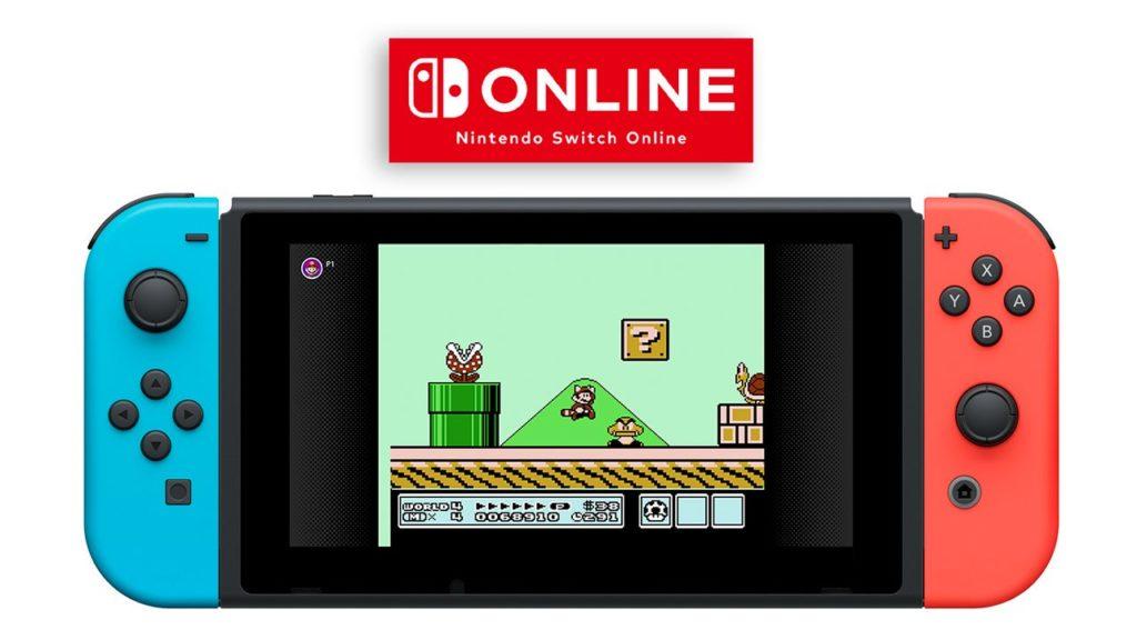 Virtual Console Nintendo Switch on Line