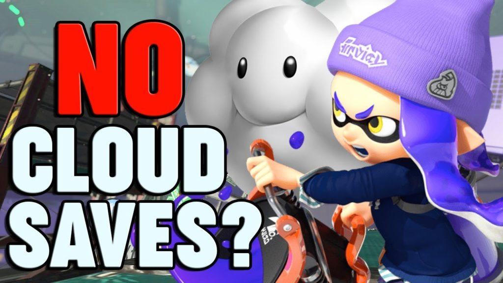 no cloud saves nintendo switch on line