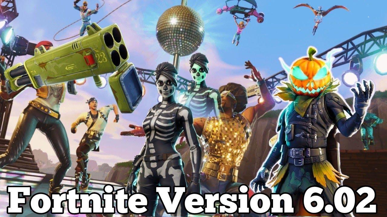 Fortnite έκδοση 6.02 στο Switch τι νέα φέρνει