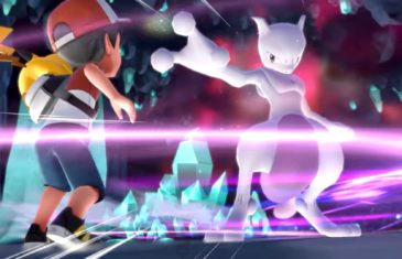 Pokemon Let's Go Mewtwo banner