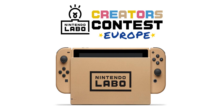 Αποτελέσματα διαγωνισμού Nintendo LABO Ευρώπης