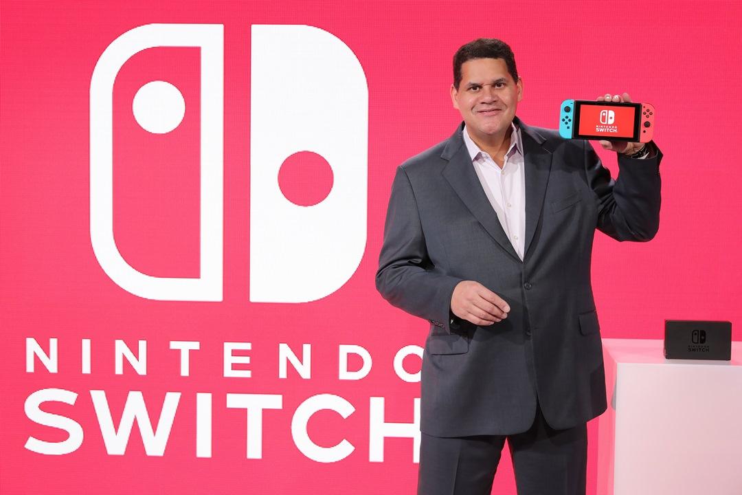 O Reggie μιλά για το Switch, το Wii U και όχι μόνο