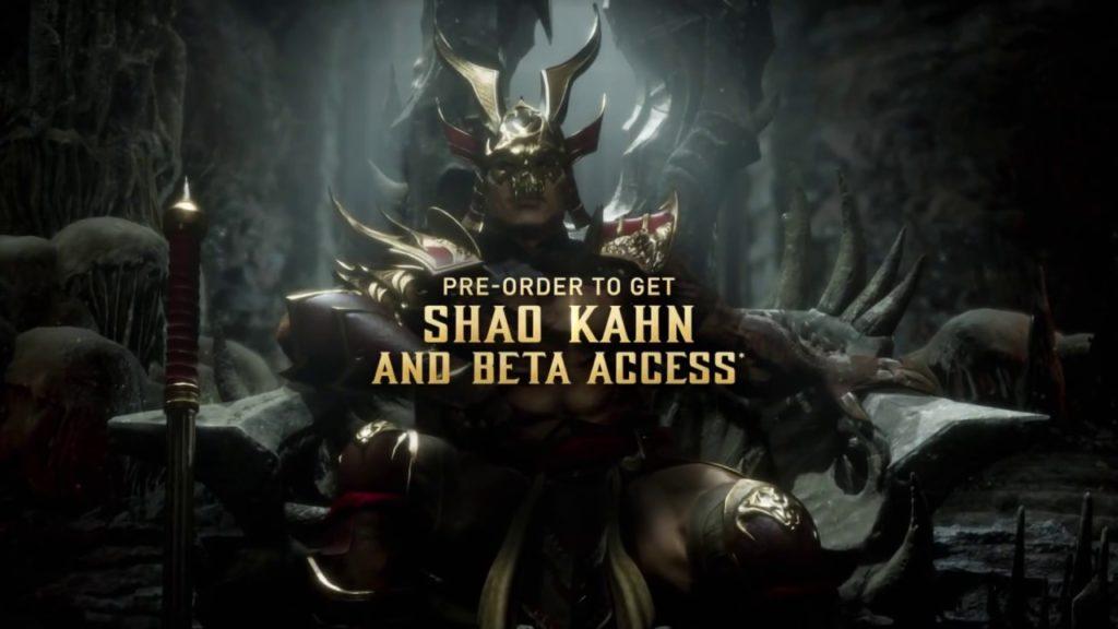 Mortal Kombat 11 Bonus Character Shao Kahn