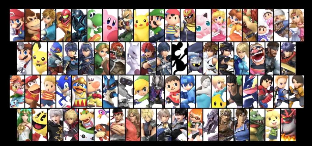 Super Smash Bros. Ultimate 74 Characters