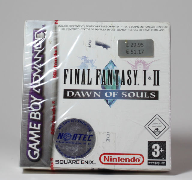 Final Fantasy I+II Dawn of Souls Nortec