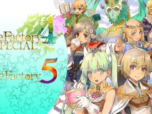 Rune Factory 4 Special & Rune Factory 5