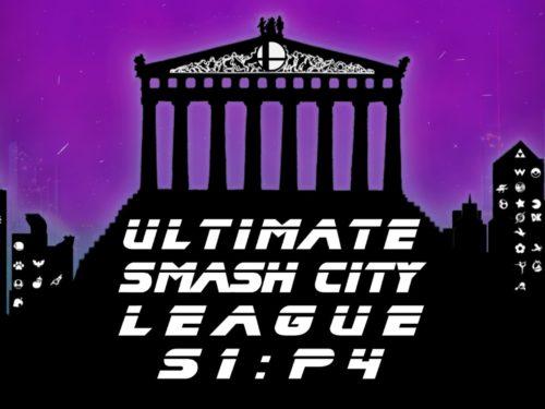 Αποτελέσματα τουρνουά Ultimate Smash City League S1:P4 Athens