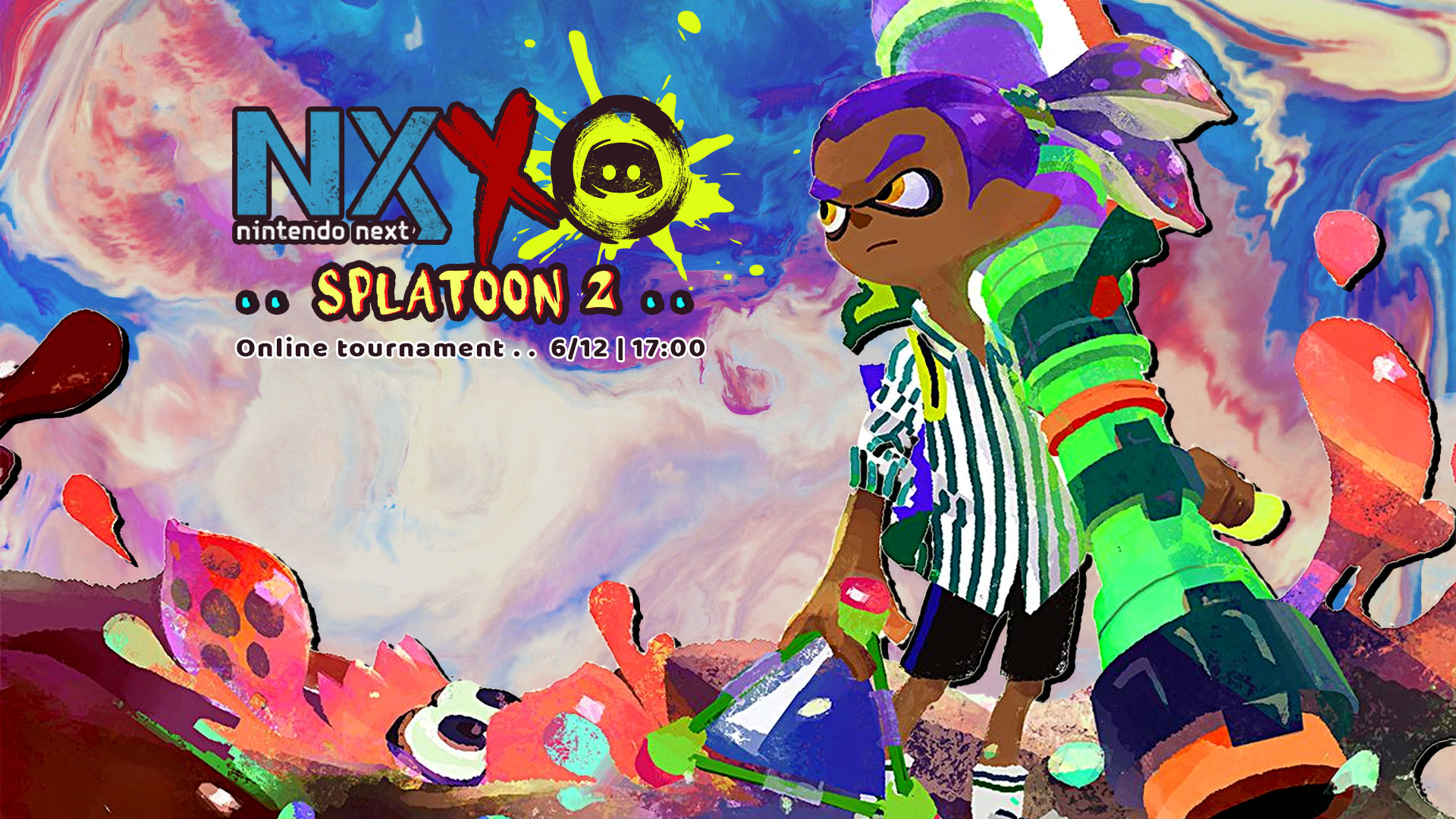 Splatoon 2 Tournament Banner Season 2